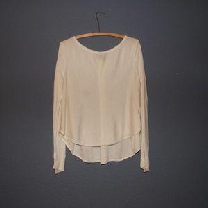 A|X Armani Exchange Cream Merino Wool Sweater XS